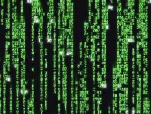 The Matrix Scrolling