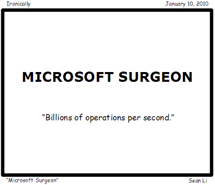 Microsoft Surgeon
