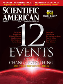 Scientific American, June 2010 Cover