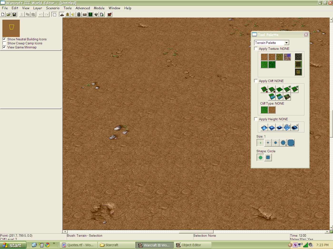 The starcraft ii map editor in context a reasoners miscellany wc3 editor terrain gumiabroncs Image collections