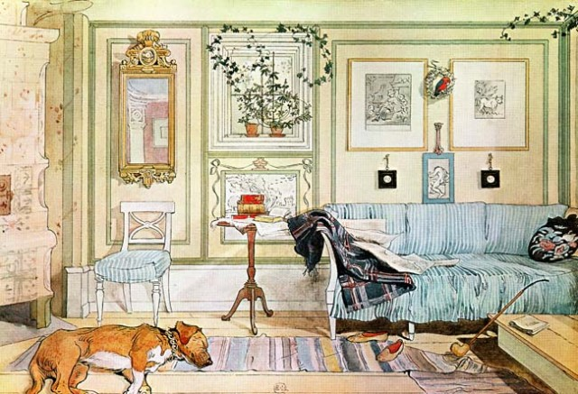 Carl Larsson - The Lazy Corner