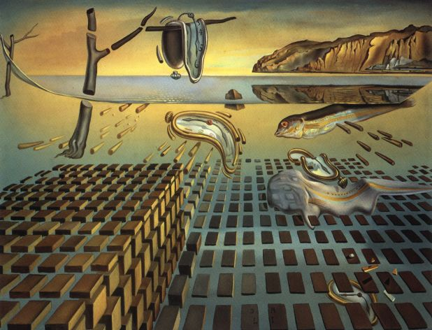 The Disintegration of the Persistence of Memory