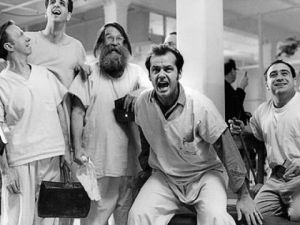 one flew over the cuckoos nest scene
