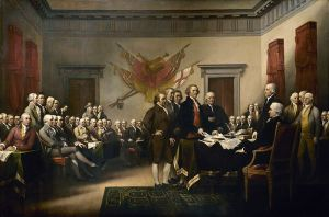 Trumbull-Declaration-of-independence